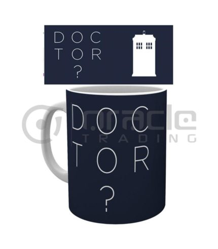 Doctor Who Question Mark Mug