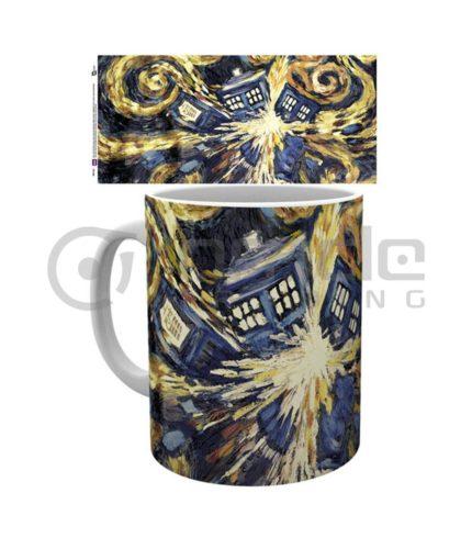Doctor Who Exploding Tardis Mug