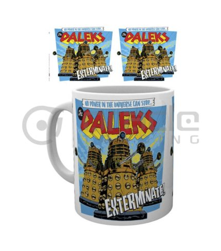 Doctor Who Daleks Exterminate Mug
