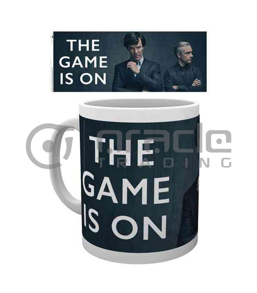 Sherlock The Game is On Mug