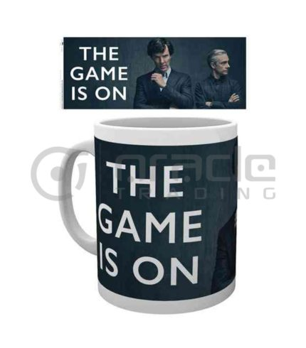 Sherlock The Game is On Mug