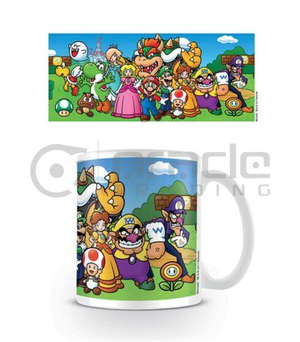 Super Mario Mug (Characters)