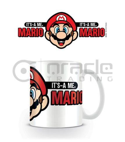Super Mario Mug (It's-A Me