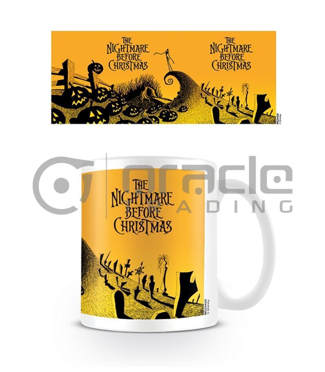 Nightmare Before Christmas Mug (Graveyard Scene)