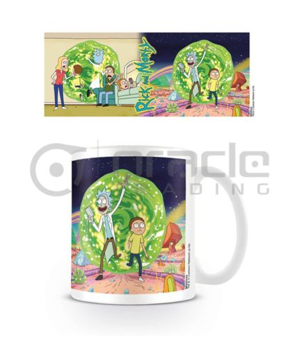 Rick & Morty Portal Mug