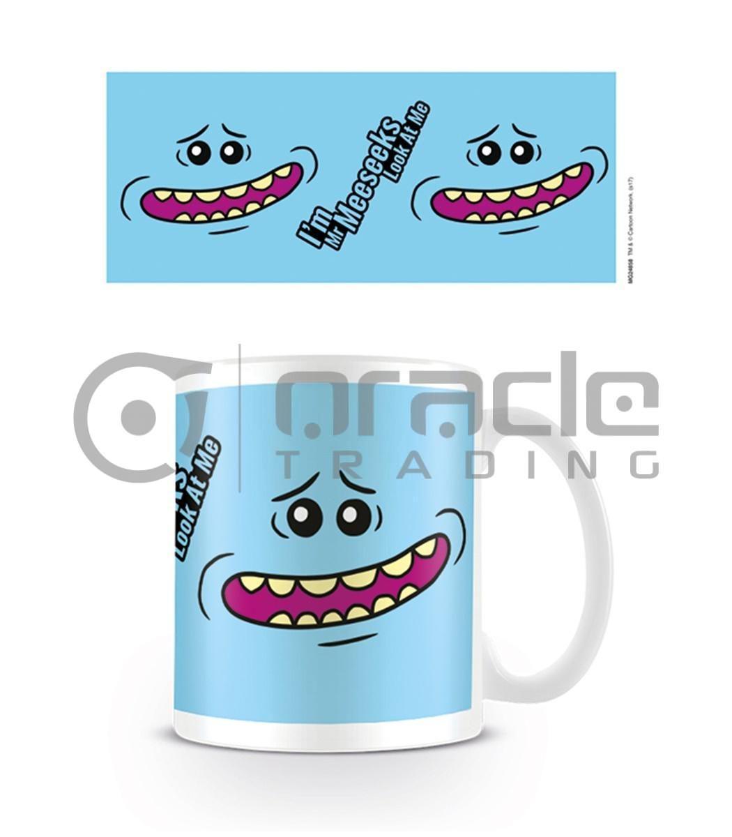 Rick & Morty Mr. Meeseeks Face Mug