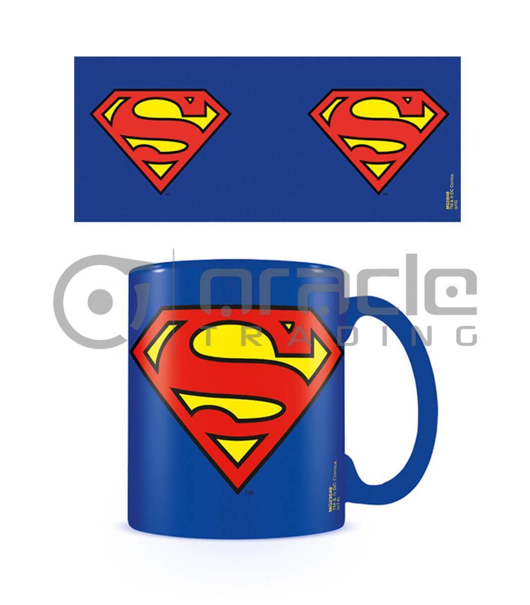Superman Mug - Inner Coloured