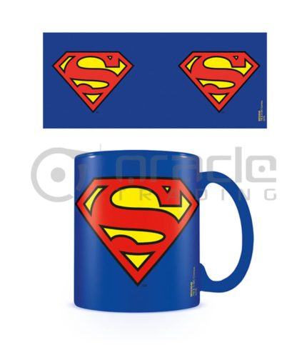 Superman Mug - Inner Coloured