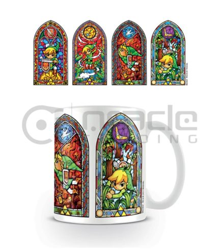 Zelda Stained Glass Mug