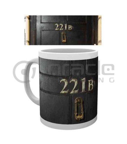 Sherlock 221B Mug