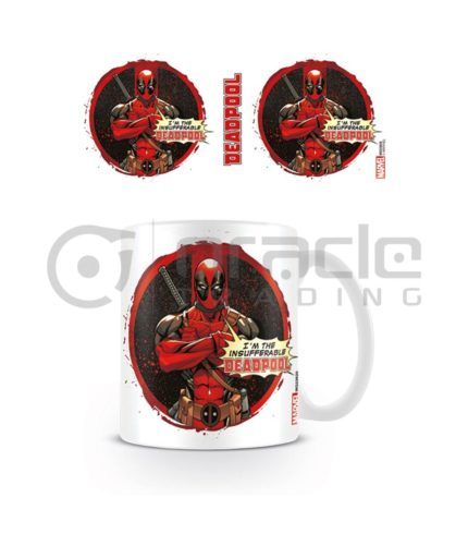 Deadpool Insufferable Mug