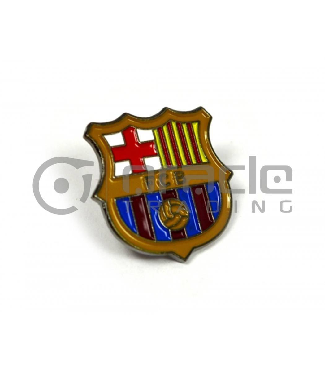 Barcelona Crest Pin