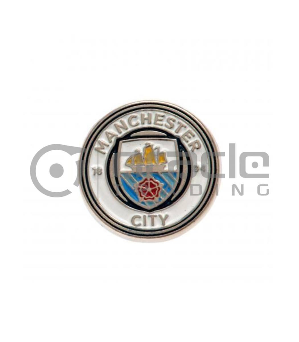 Manchester City Crest Pin