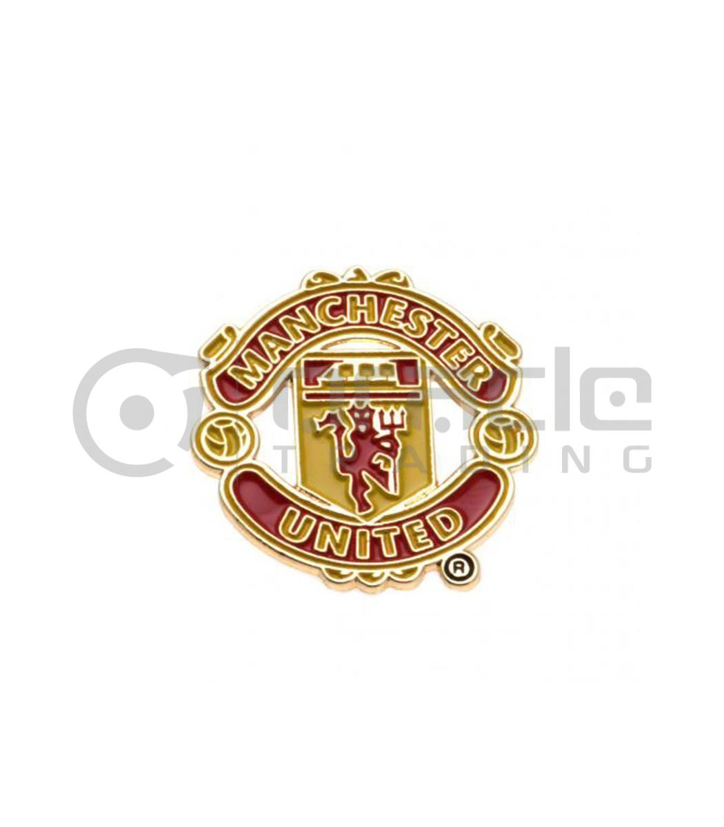 Manchester United Crest Pin Oracle Trading Inc
