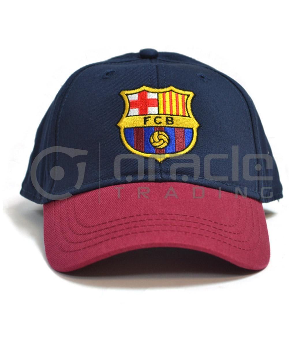 Barcelona Navy Crest Hat