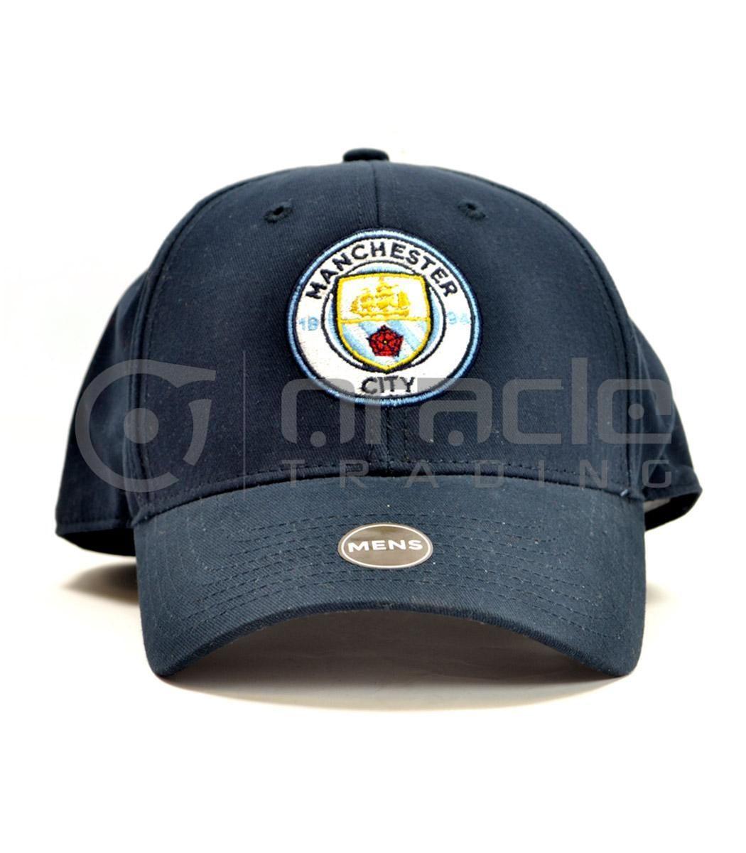 Manchester City Navy Crest Hat - Brand 47