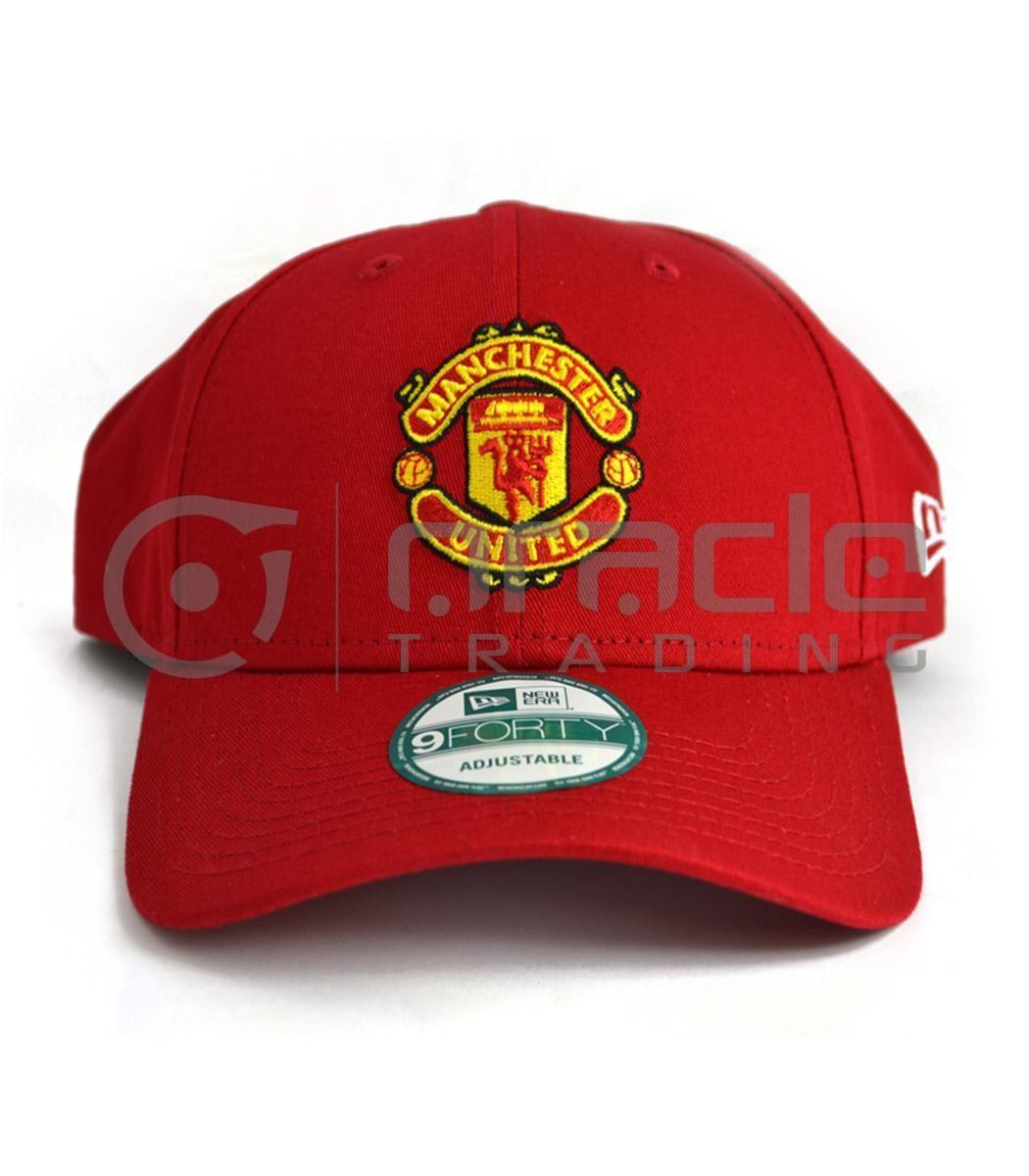 Manchester United Red Crest Hat - New Era