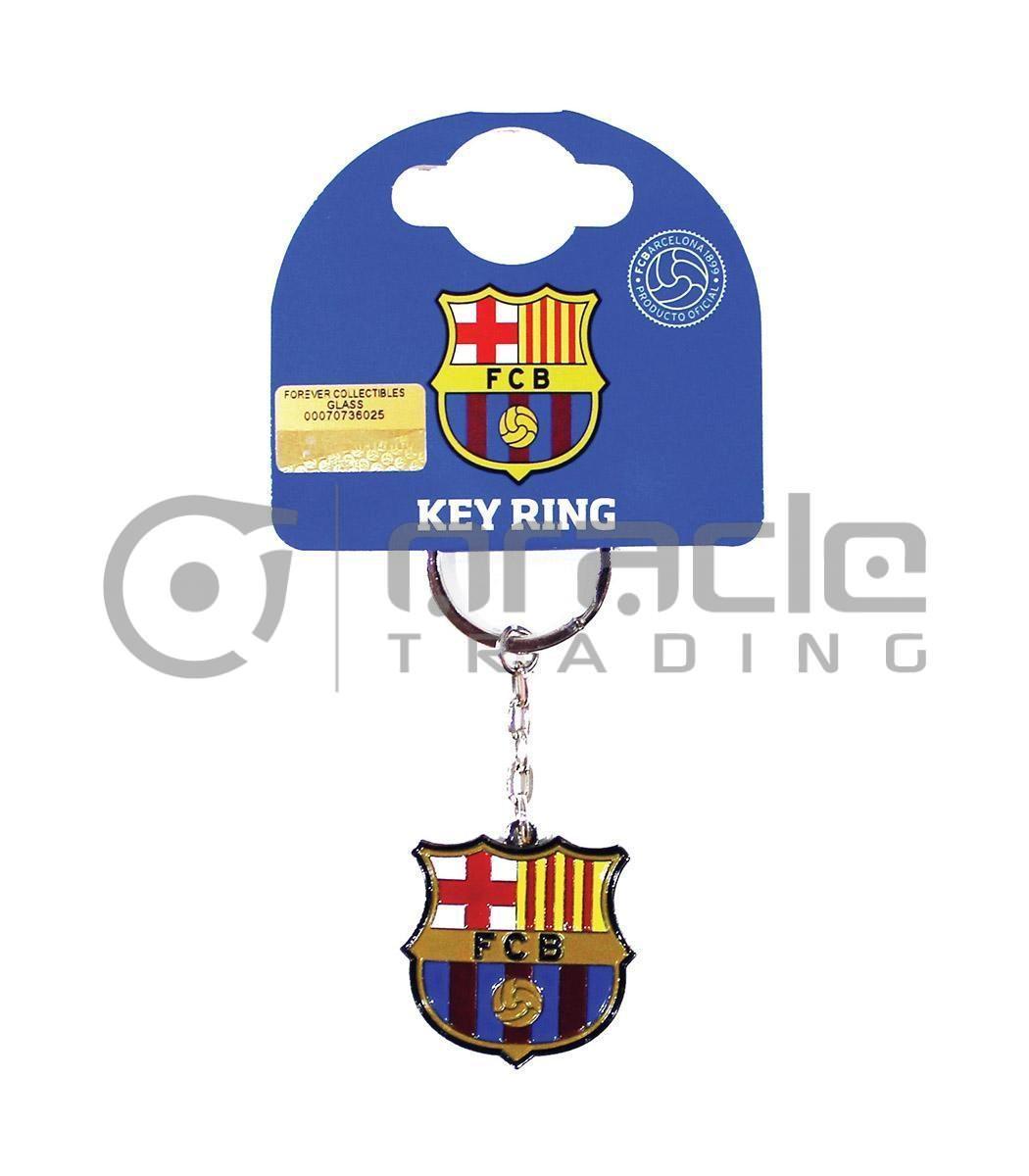 Barcelona Crest Keychain