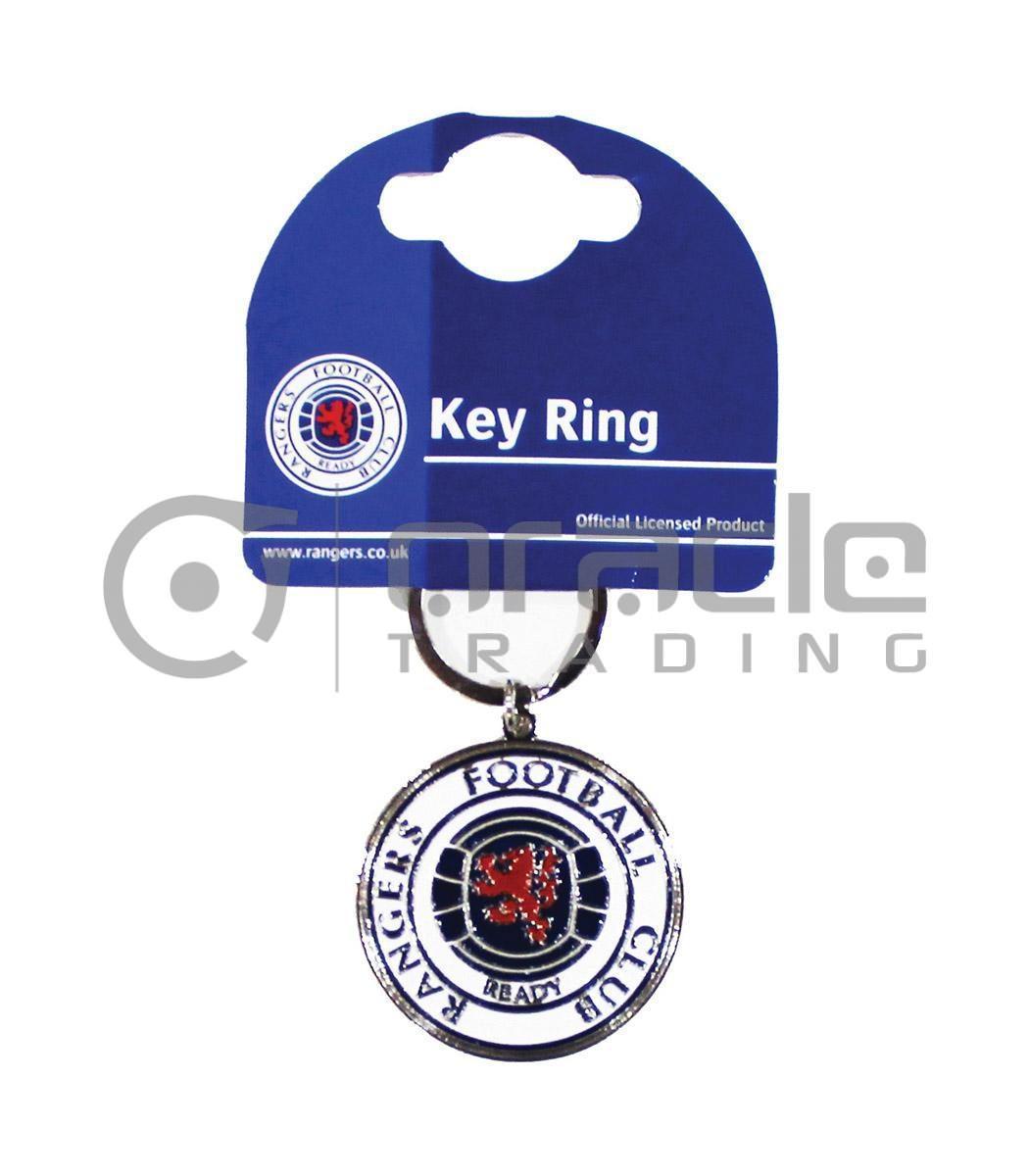 Rangers FC Crest Keychain