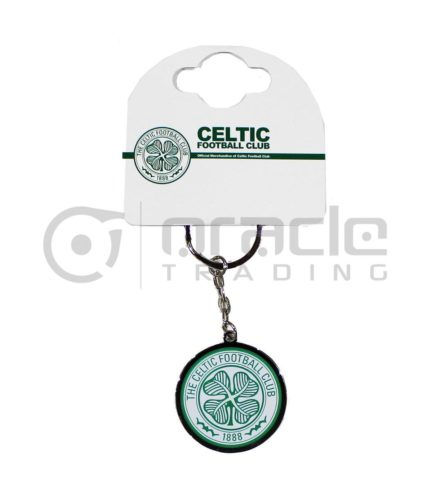 Celtic Crest Keychain