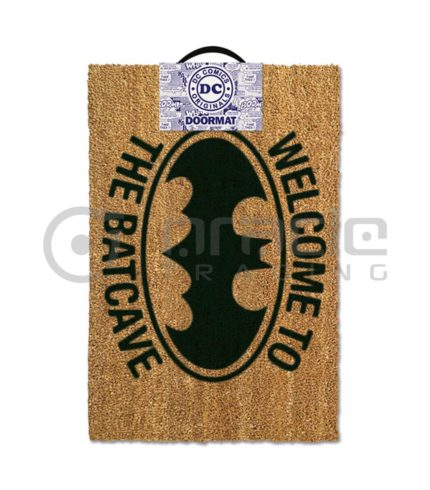 Batman Doormat - Welcome to the Batcave
