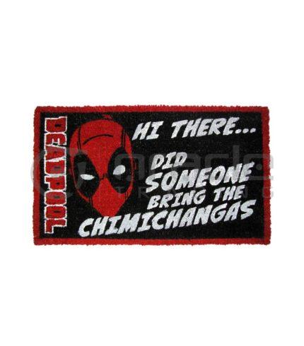 Deadpool Doormat - Chimichangas