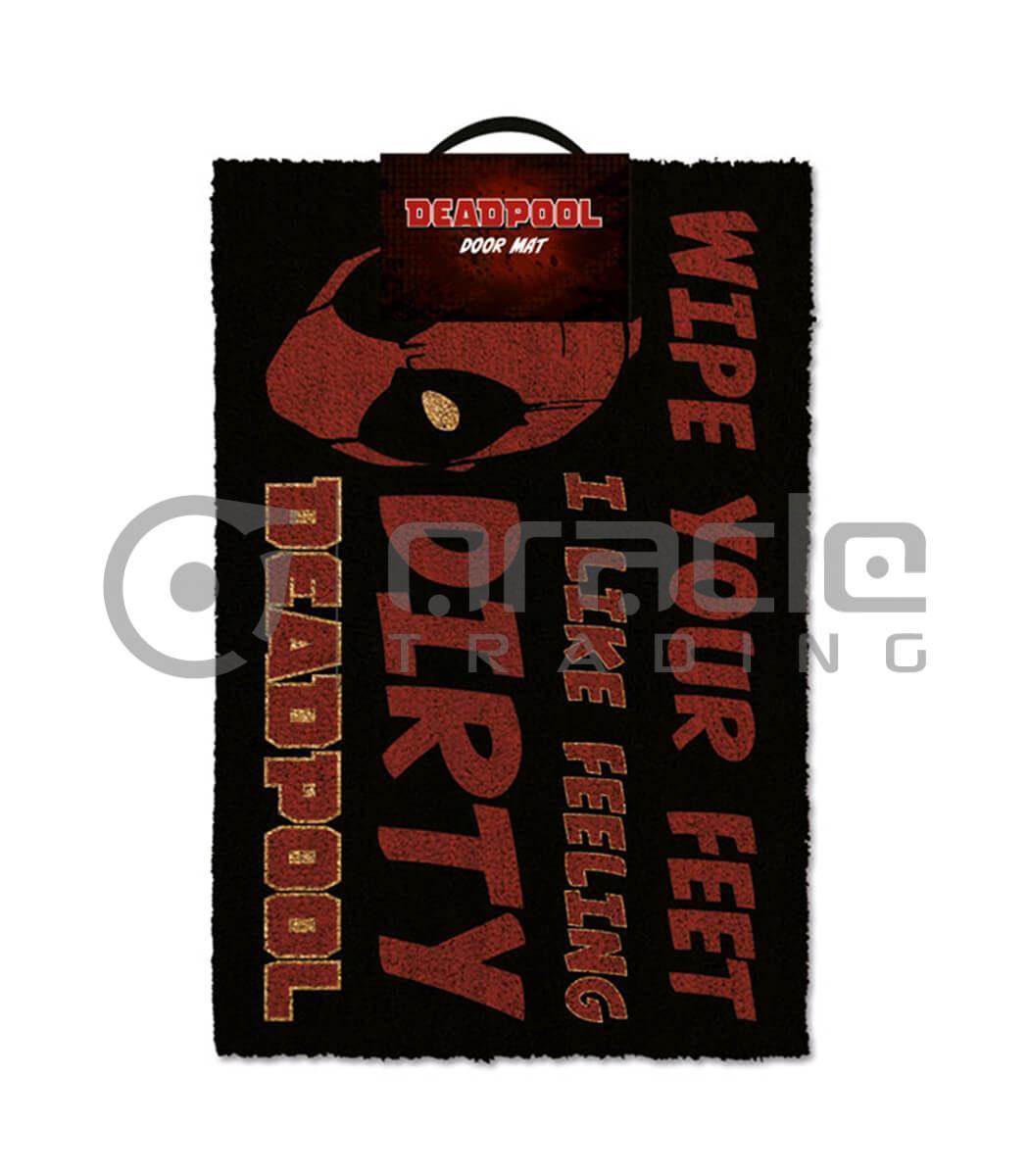Deadpool Doormat - Dirty