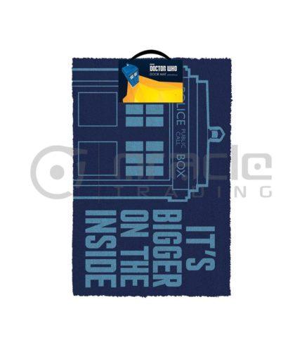 Doctor Who Tardis Doormat