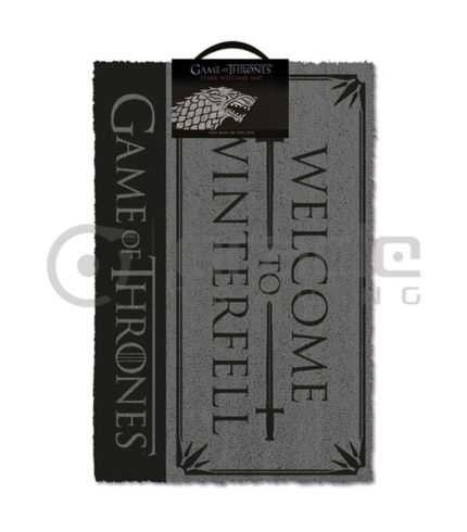 Game of Thrones Doormat - Stark - Welcome to Winterfell