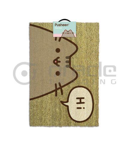Pusheen Doormat - Hi