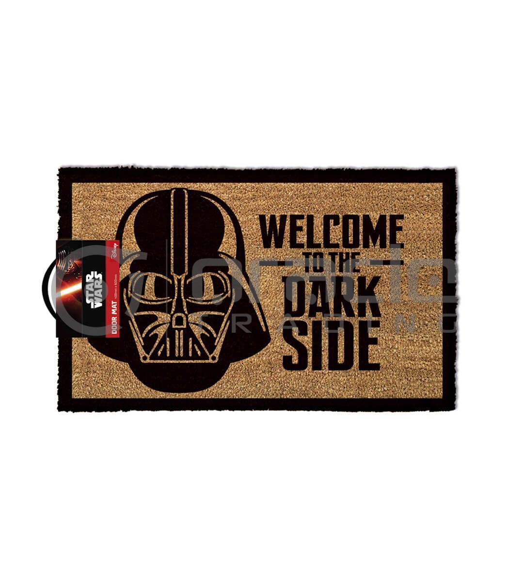 Star Wars Doormat - Welcome to the Dark Side