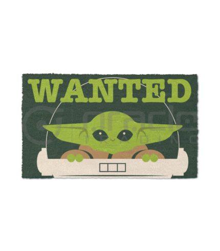 Star Wars: The Mandalorian Doormat - Wanted