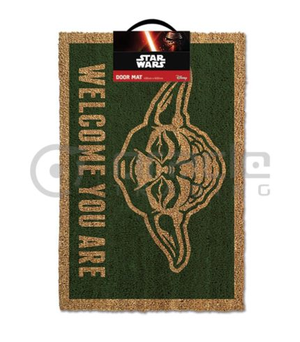 Star Wars Yoda Doormat (Welcome You Are)