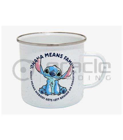 Lilo & Stitch Enamel Camper Mug - Ohana