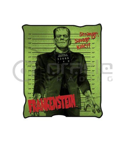 Frankenstein Fleece Blanket