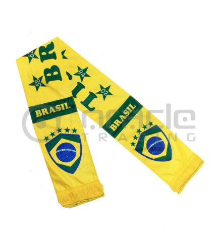 Brazil Fleece Scarf