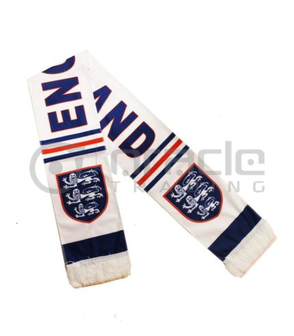 England Fleece Scarf