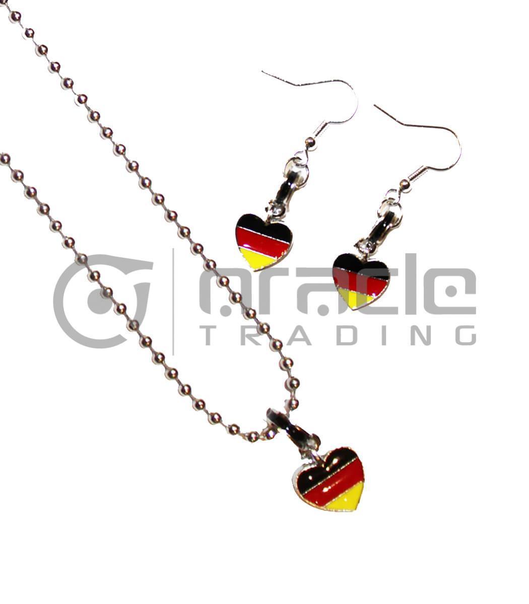 Germany Jewelry Set - Necklace & Earrings