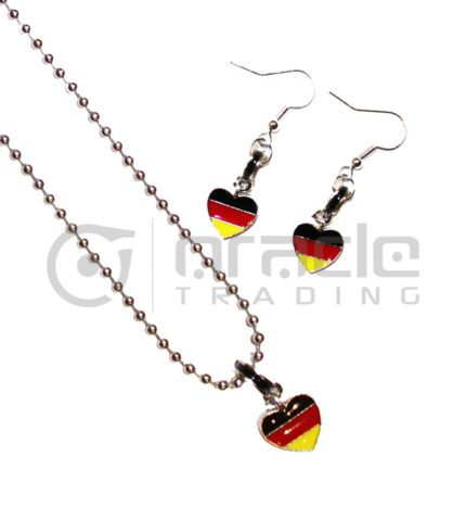 Germany Jewelry Set - Necklace & Earrings