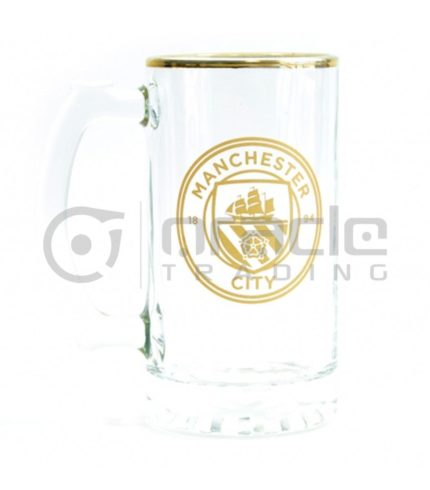 Manchester City Gold Beer Stein