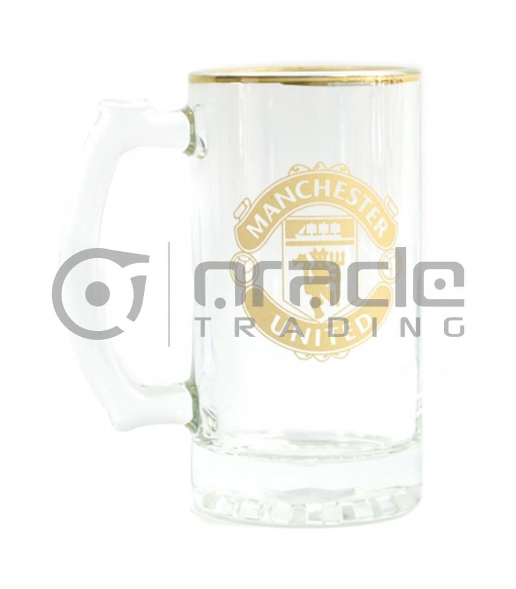 Manchester United Gold Beer Stein
