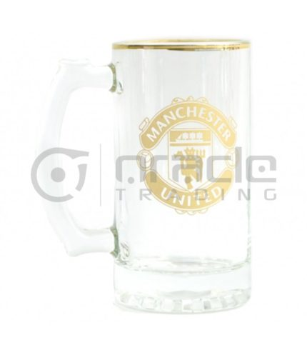 Manchester United Gold Beer Stein