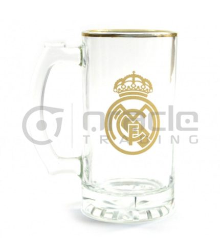 Real Madrid Gold Beer Stein