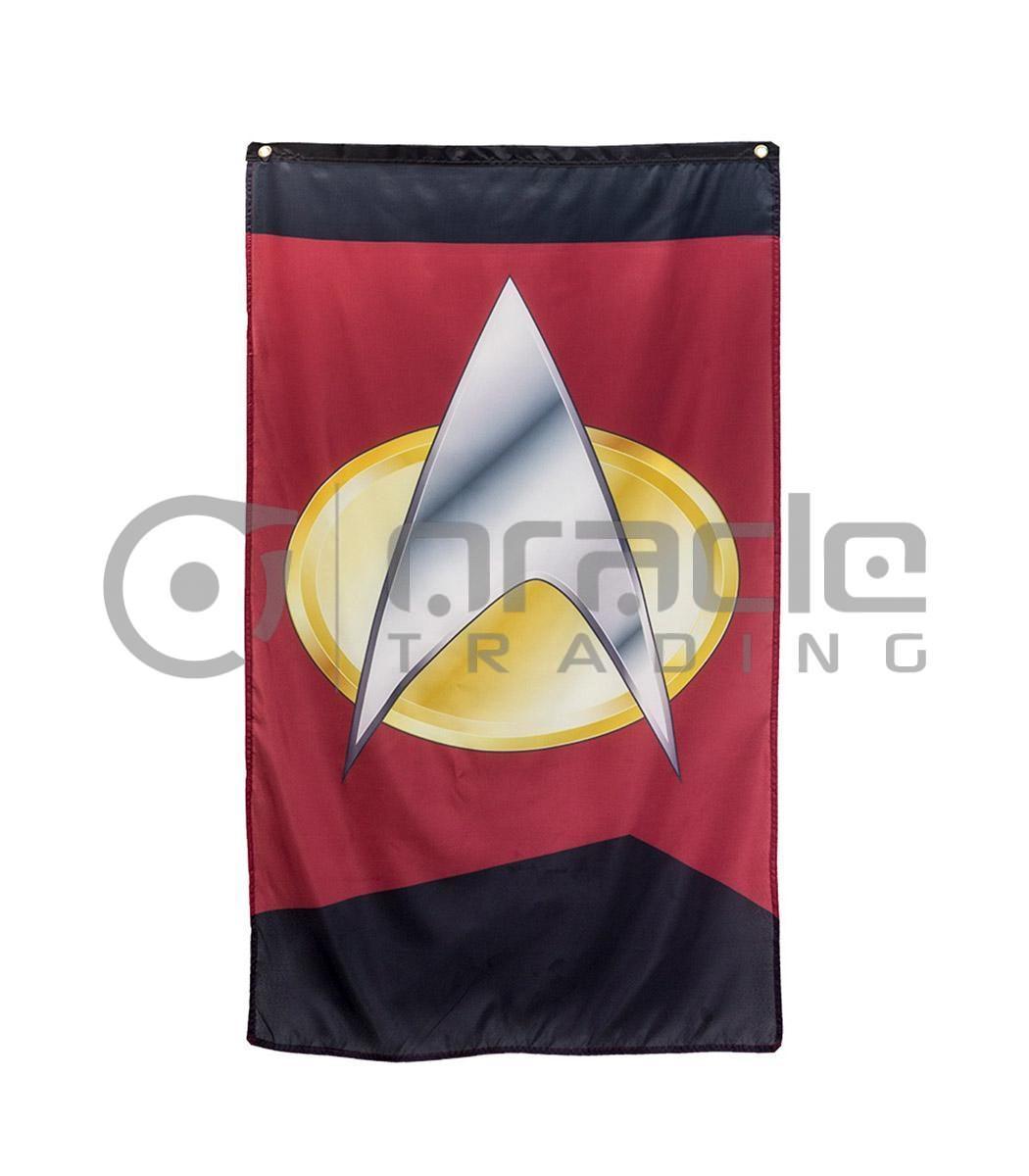 Star Trek Com Banner - Com Badge