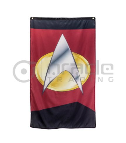 Star Trek Com Banner - Com Badge
