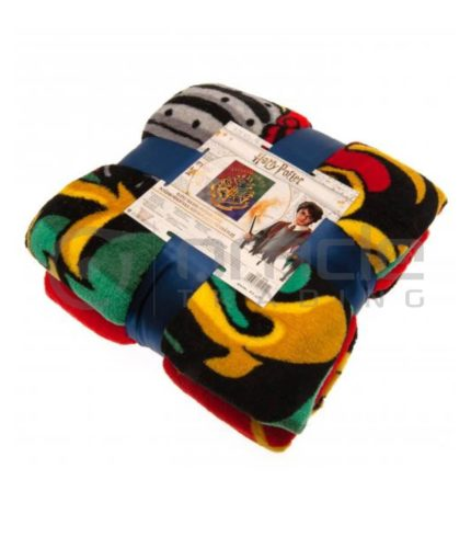 Harry Potter Fleece Blanket - Hogwarts