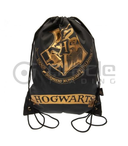 Harry Potter Gym Bag - Hogwarts (Black)