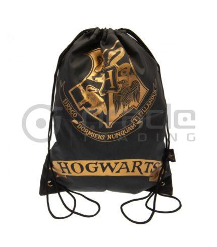 Harry Potter Gym Bag - Hogwarts (Black)