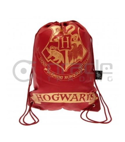 Harry Potter Gym Bag - Hogwarts (Maroon)