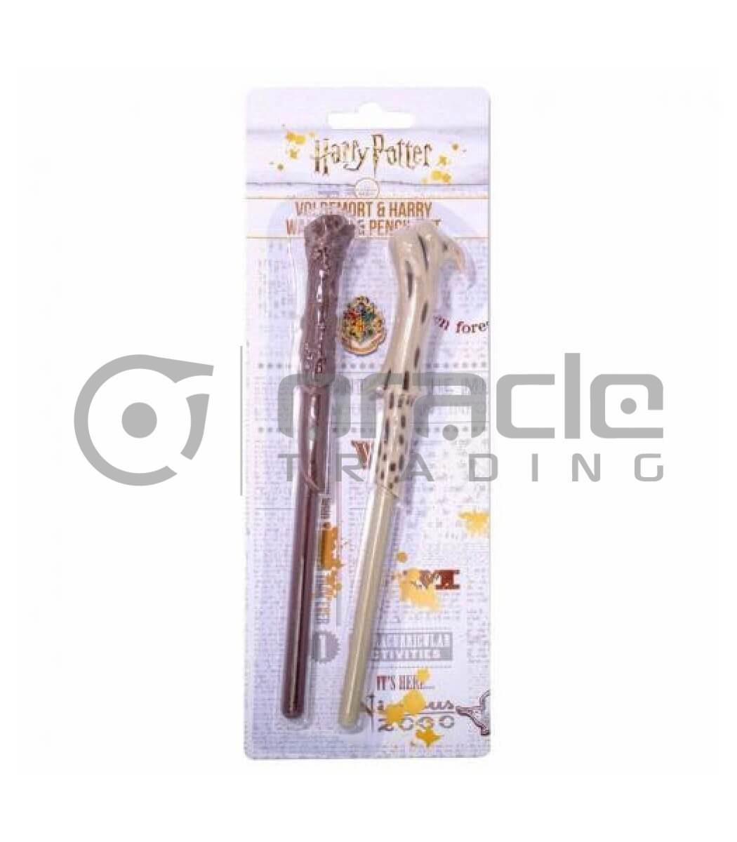 Harry Potter Pen & Pencil Set Wands